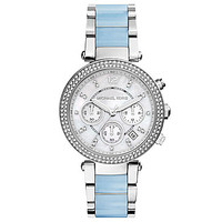 Michael Kors Ladies' Parker Watch - Silver