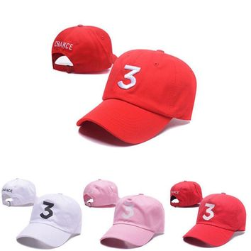 Women Men Unisex US Seller Chance Baseball Caps The Rapper 3 Dad Hat Baseball Cap - Adjustable Strapback