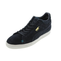 Puma Mens Stepper Crafted Suede Classic Casual Shoes