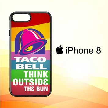 taco bell logo Z3337 iPhone 8 Case