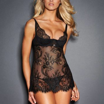 Dana Lace and Diamante Babydoll