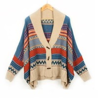Super vintage cardigan sweater-New Arrival!