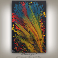 Canvas PAINTING CONTEMPORARY ART Modern fine art Gallery Large Contemporary Oil Painting huge Contemporary Art for Sale online by Nandita