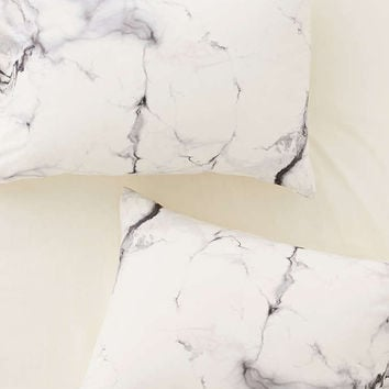 Chelsea Victoria For DENY Marble Pillowcase Set - Urban Outfitters