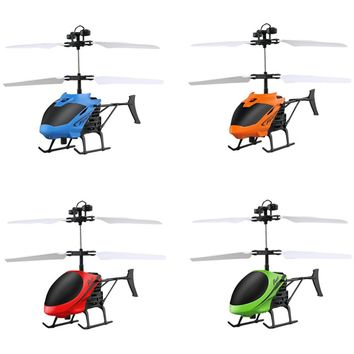 New Gestures Induction Control Flying Helicopter Infrared Sensor Aircraft without Remoter Kids Flying Toy 4 colors