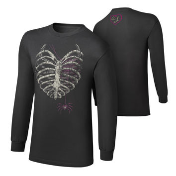 "AJ Lee ""Till Your Last Breath"" Youth Long Sleeve T-Shirt"