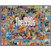 The Nineties 1,000-Piece Jigsaw Puzzle