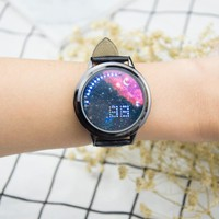 Creative personality Starry sky Galaxy Touch Screen watch women  watches men LED Digital Sport casual Luxury Brand watches Male
