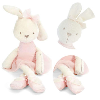 Cute 42cm Large Soft Stuffed Animal Bunny Rabbit Toy Baby Girl Kid