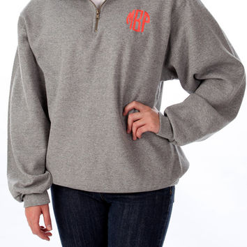 Best Monogrammed Half Zip Pullover Products on Wanelo