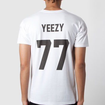 White Yeezy 77 T-Shirt