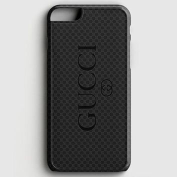 Gucci Black Emboss iPhone 7 Case