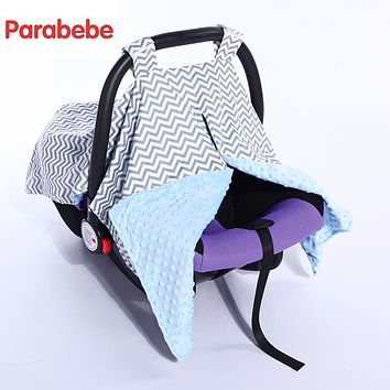 Baby Car Seat Accessories Canopy Cover Thick Basket Cover For Winter Cotton Baby Stroller Accessories Children Cart Carrycot Set