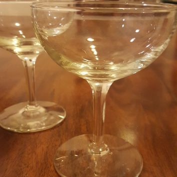 Classic Very Nice Looking Champagne Coupes S/2