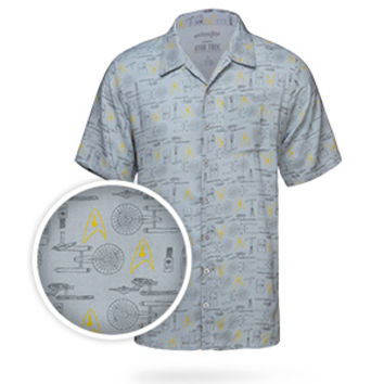 Star Trek Hawaiian Shirt - Exclusive
