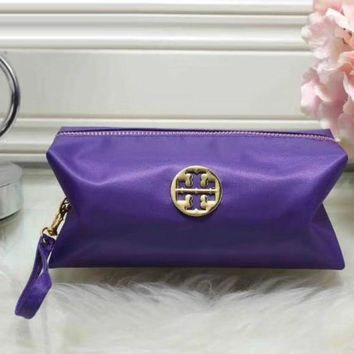 Tory Burch Women Fashion Leather Zipper Wallet Purse-1