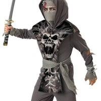 In Character Kids Undead Zombie Ninja Warrior Halloween Costume 6