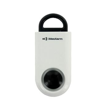 Portable Personal Security Alarm White-Black