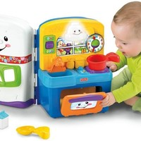 Fisher-Price Laugh & Learn Learning Kitchen:Amazon:Toys & Games