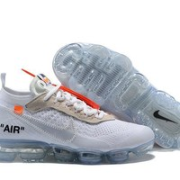 2018 OFF-WHITE x Nike Air VaporMax 2.0 AA3831-100 40-45