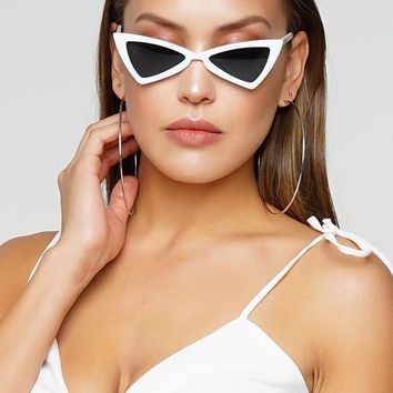 Elly Sunglasses - White