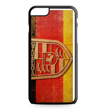 Porsche German Logo iPhone 6 Plus Case