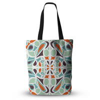 "Miranda Mol ""Orange Purple Stained Glass"" Tote Bag, 13"" x 13"" - Outlet Item"