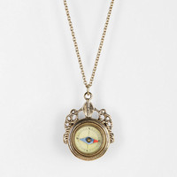 Urban Outfitters - Take Me There Compass Necklace
