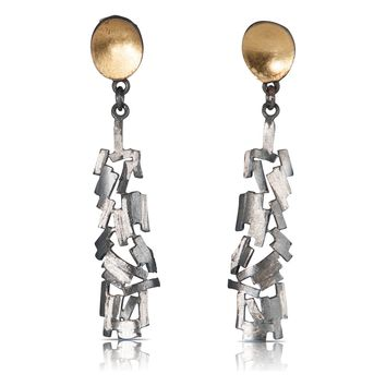 All NEW Meteor Shower Gold and Silver Earrings