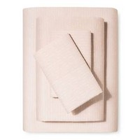Sheet Set (Full) Breezy Peach Hash - Nate Berkus™