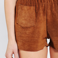 Urban Outfitters - Urban Renewal Suede Pull-On Short