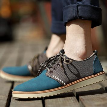 Men Winter Matte Korean Stylish Shoes [257817903133]