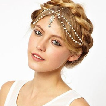 Accessory Stylish Vintage Hair Accessories Hairband [6057185729]