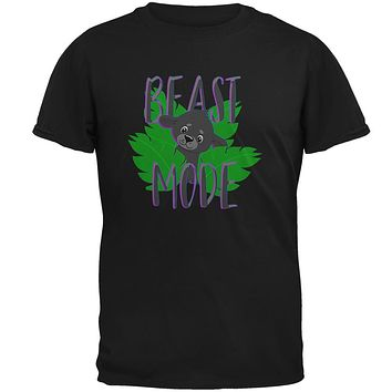 Beast Mode Cute Black Panther Cub Mens T Shirt
