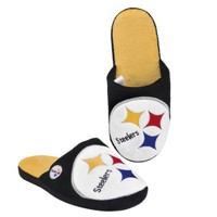 NFL Pittsburgh Steelers 2011 Big Logo Slide Slipper Hard Sole Large