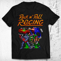 Rock n' Roll Racing Men's Video Game T-shirt