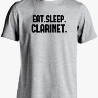 Clarinet Shirt-Eat Sleep Clarinet Tshirt