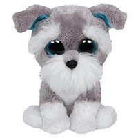 TY Beanie Boos Whiskers the Schnauzer Small 6""