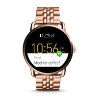 Q Wander Touchscreen Rose Gold-Tone Stainless Smartwatch - $315.00