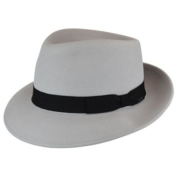 Acheson Teardrop Wool Felt Fedora by Bailey