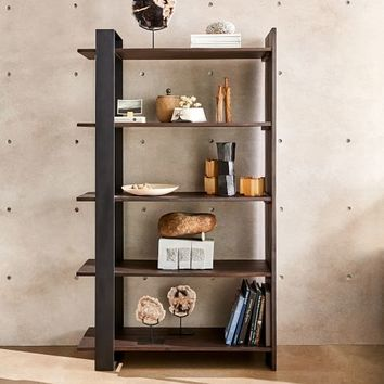Logan Industrial Bookshelf - Tall