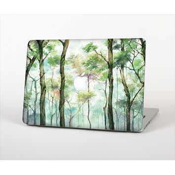 The Watercolor Glowing Sky Forrest Skin Set for the Apple MacBook Air 13""