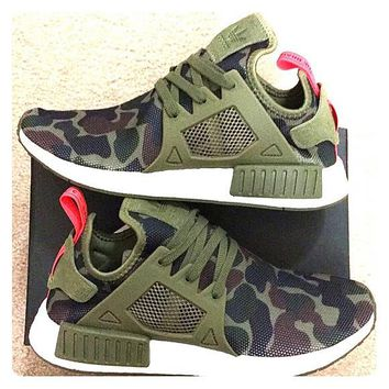 """Adidas"" NMD XR1 Duck Camo Women Men Running Sport Casual Shoes Sneakers Camouflage Green"
