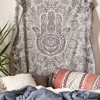 Magical Thinking Sketched Hand Tapestry