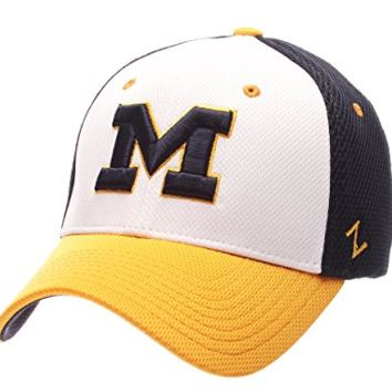 Michigan Wolverines Kickoff Flex Fit Hat By Zephyr