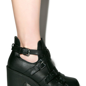 C Label No Mercy Boots Black