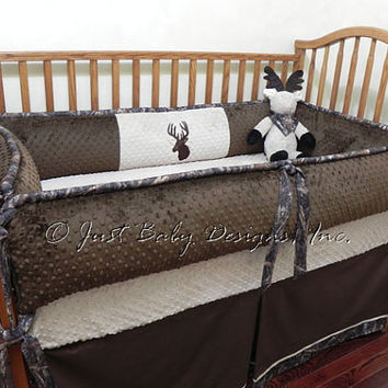 Custom baby crib bedding set paxton boy from babybeddingbyjbd custom baby crib bedding set paxton boy baby bedding deer crib bedding camo baby sciox Image collections