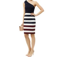 Ted Baker Hilila One Shoulder Dress | Harrods.com