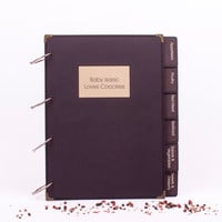 Recipe Book Binder in A4 size with 140 pages
