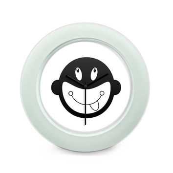 Monkey Pattern Design Table Clock